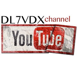 Youtube Channel DL7VDX.com
