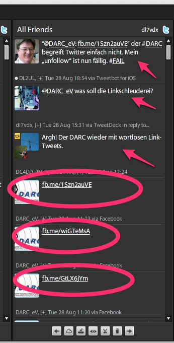 DARC Marketing-Strategie auf Twitter
